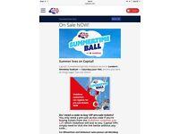 Capital fm summertime ball tickets x3