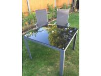 Outdoor table set ( table +4chairs )