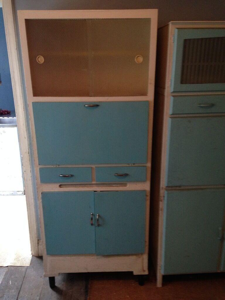White Kitchen Dresser Unit Retro Kitchen Dresser Unit In Traditional Pale Blue White In