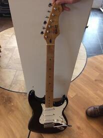 Rock wood LX electric guitar