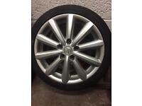 Suzuki Swift Sport spare alloy wheel