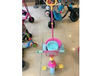 New Peppa Pig 3 Wide Wheel Trike