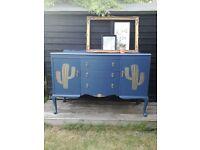 Vintage sideboard cocktail cabinet