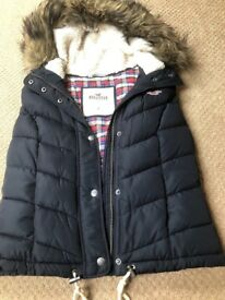 Hollister gillet Navy blue small