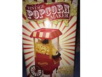 Vintage popcorn maker