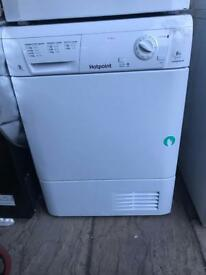 HOTPOINT Aquarius TCM580 Condenser Tumble Dryer - White