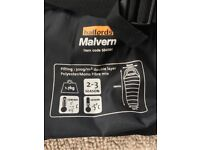Malvern Halfords sleeping bag