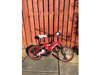 Boys 16 inch Huffy Bike