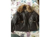 Girls river island jacket age 4-5