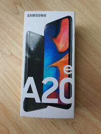 Brand New Samsung Galaxy A20e - 32GB -4G Black (Unlocked) (Dual SIM) UK Version WARRANTY SEALED