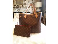 Louis Vuitton Neverfull MM new version