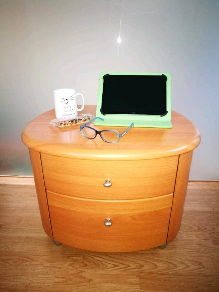 Side / End / Occasional Table or Bedside Cabinet * 2 Drawers *