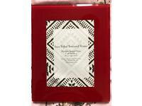 """Next red picture frame 5x7"""""""