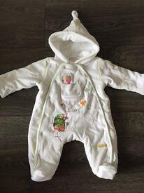 Mamas & Papas Baby Cosy Suit - Newborn