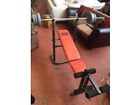 Pro Power Weight Bench & Leg Press