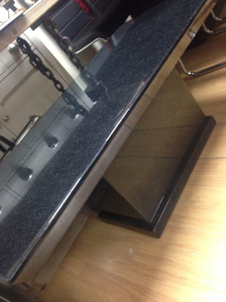 Nerd granite effect coffee table
