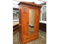 Edwardian wardrobe (can deliver)