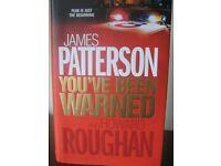 JAMES PATTERSON - YOU'VE BEEN WARNED - HARDBACK - (Kirkby in Ashfield)