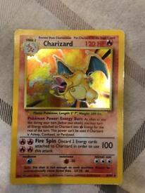 Pokemon card Charizard