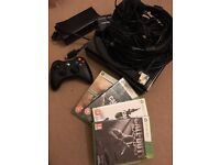 XBOX 360 with 4 Call Of Duty Games + Turtle Beach + DSS