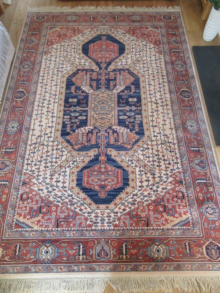 Super Keshan rug, 100% wool, hand made