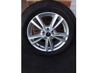 """FORD 17"""" ALLOY WHEELS AND TYRES"""