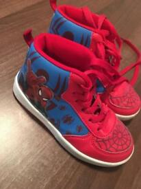 Spider-Man trainers size 9