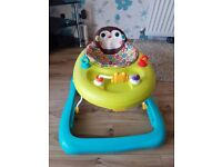 Jumperoo, baby walker, baby gym amd baby first steps in decent condition. In a smoke free house