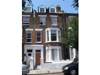A newly refurbished two bedroom apartment, set on the first floor of an imposing period style house.