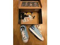 Blue heelys size 1