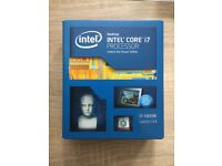 Intel Core i7 5820K Processor {Never Opened Or Used}