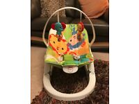 Fisher Price Rainforest friends vibrating bouncer RRP £35