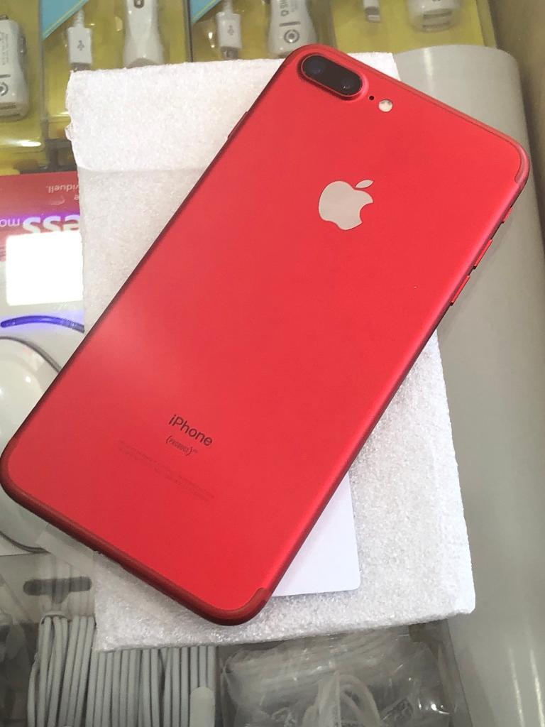 Apple Iphone 7 Plus 128gb Red Edition Unlocked Work Any Sim In 128 Gb