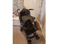 Kiddicare Codi tandem double pushchair including rain cover selling due to not needing anymore.