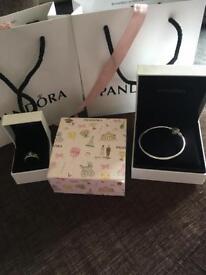 Pandora bangle & ring