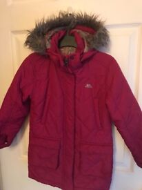 Trespass girls coat