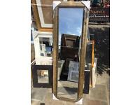 """full length ornate gold framed mirror 54""""x18"""""""