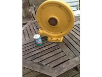 Large air pump heavy duty for bouncy castle, very strong, metal