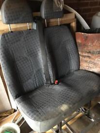 Mk7 transit front seats