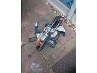 Mitre saw with laser