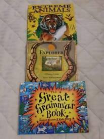 3 x Pop Up Books