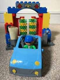 Duplo Lego car wash