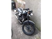 Lexmoto Valiant 125cc motorbike