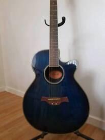 Crafter FX550EQ electro acoustic cutaway guitar