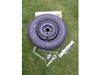 Nissan Juke Space Saver Spare Wheel & Jacking Kit