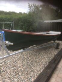 17ft Fishing boat