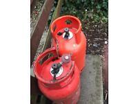 2x 19kg gas bottles (empty)