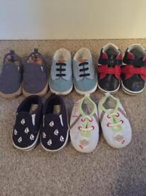 Baby shoes 9-12 & 12-18 months