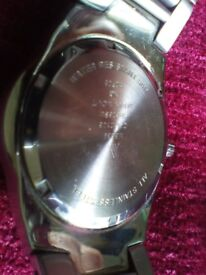 Mint Accurist Diver Watch- All Stainless Steel+Japanese MVT