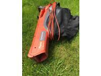 Flymo Electrolux Gardenvac 2200w Turbo blower vacuum working